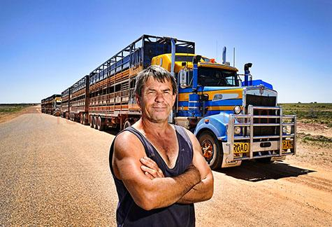 truck driver;truck drivers;trucky;truckies;truckys;truckie;road train;road trains;roadtrains;roadtrain;truck;trucks;semi trailor;semi trailors;semi trailer;semi trailers;semi;semis;transportation;transport;transports;transporting;prime mover;prime movers;transportation truck;transportation trucks;semi trailor truck;semi trailor trucks;semi trailer truck;semi trailer trucks;roads;road;dirt road;dirt roads;dirt track;dirt tracks;track;tracks;country road;country roads;country setting;country settings;country;lorry;lorrie;lorries;lorrys;blue sky;blue skies;drive;drives;driving;industrial truck;industrial trucks;copyspace;copy space;textspace;text space;rig;rigs;man;men;country man;country men;australian man;australian men;australia;australian;aus;outback;outback australia;australian outback;worker;workers;working;career;careers;agriculture;livestock;livestock truck;livestock trucks;aussie;aussies;bloke;blokes;portrait;portraits;smile;smiles;smiling;person;people;rural;rural setting;rural settings;agriculture;agricultural;agricultural industry;arms folded;man with arms folded;singlet;singlets;bluey;blueys;queensland;qld;west queensland;west qld;western queensland;western qld;tan;tans;tanned;sun tan;sun tans;sun tanned;sun damage;sunburn;sun burn;sunburnt;sun burnt