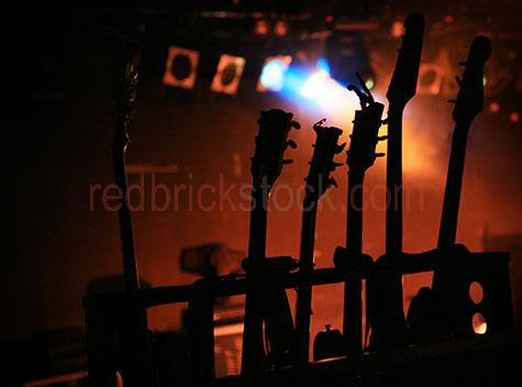 guitar guitars silhouette silhouetted stage lights show gig live