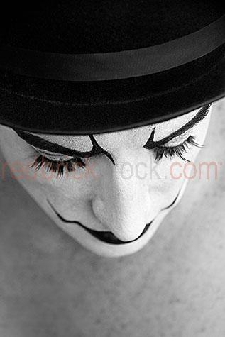 clown;clowns;clown face;clown faces;face;faces;close-up;close-ups;close-up's;close up;close ups;close up's;close-up view;close-up views;close-up view's;close up view;close up views;close up view's;clown close-up;clown close-ups;clown close-up's;clown close up;clown close ups;clown close up's;clown face close-up;clown face close-ups;clown face close-up's;clown face close up;clown face close ups;clown face close up's;entertainer;entertainers;entertainment;entertaining;perform;performs;performance;performances;performing;amuse;amuses;amusement;amusing;circus;circus';circus's;carnival;carnivals;sidehsow alley;sideshow alleys;sideshow ally;sideshow allys;quirky;querky;facial features;lips;painted lips;eye;eyes;green eyes;eyebrows;painted eyebrows;eyelashes;fake eyelashes;long eyelashes;face paint;face paints;painted face;face painted;white face;white faces;painted white face;painted white faces;painted clown face;facial hair;top hat;top hats;black top hat;black top hats;hat;hats;looking down;clown looking down;b&w;black & white;black and white;b & w;mono;monotone