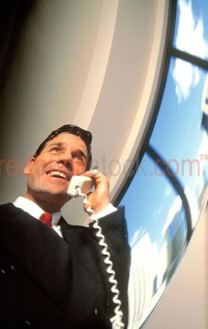 businessman business man executive office telephone phone talkin