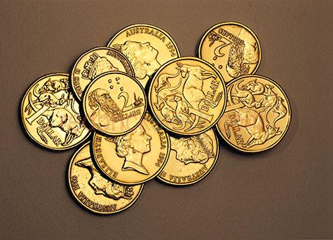 australian;coins;currency;australia;money;finance;australian money;australian finance;coin;one dollar coin;two dollar coin;investments;investment;financial investment;wealth;wealthy;saving;savings;saving money;australian coins