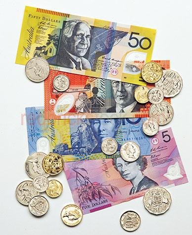 australian coins;currency;australia;money;finance;notes;legal tender;australian money;australian notes;australian coins;financial;money on white background;cash;fifty dollars;twenty dollars;ten dollars;five dollars;dollar;stock;earning money;monies;savings;save;saving;investment;investments;wealth;wealthy