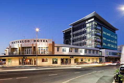 waterloo hotel;hotel;hotels;brisbane hotel;brisbane hotels;waterloo junction;waterloo hotel and office;office;offices;office block;office blocks;architecture;brisbane;brisbane city;city;cities;australia;australian;australian hotel;australian hotels;australian pub;australian pubs;pub;pubs;building;buildings;dine;dining;brisbane dining;restaurant;restaurants;brisbane restaurant;brisbane restaurants;taxi;taxis;brisbane taxi;brisbane taxis;traffic;brisbane traffic;peak hour;peak hour traffic;car trails;car trail;head light;head lights;car;cars;vehicle;vehicles;road;roads;watpac;street light;street lights;dusk;night;night time;blue sky;blue skies;clear blue sky;clear blue skies;commercial road;commercial road brisbane;commercial rd;commercial rd brisbane;newstead;fortitude valley