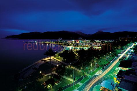 cairns esplanade;cairns swimming lagoon;harbour;public swimming lagoon;cairns swimming pool;cairns park;cairns night;cityscape;cityscapes;dusk;evening;twilight;streetscape;aerial view;cairns beach;australia;australian;australian cities;city's;queensland;north queensland;qld;cairns street;streets;street scene;seascape;seascapes;car lights;car lights streaking