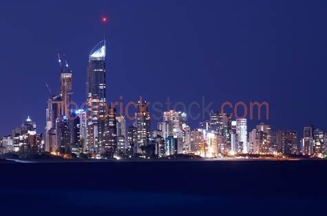 gold;coast;skyline;night;q1;tower;building;buildings;cityscape;p;