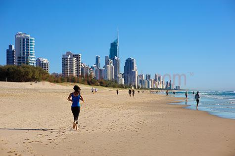 gold coast;gold coast hi-rise;australia;surfers;surfers paradise;hi-rise;hirise;high-rise;highrise;skyscraper;skyscrapers;surf;surfing;wave;waves;skyline;vista;beach;beaches;ocean;oceans;sand;building;buildings;qld;queensland;australia;australian;city;cities;citys;cityÕs;travel;vacation;vacations;destination;destinations;tourist;tourism;holiday;holidays;holidayÕs;cityscape;cityscape;water;q1;morning;early morning;blue sky;ocean;copy space;copy spaces;text space;text spaces;coast;coasts;coastal;coastline;coastlines;coastal living;exercise;exercises;exercising;run;running;running beach;run beach;running beaches;run beaches;fitness;heath;lifestyle;healthy lifestyle;woman running beach;jog;jogs;jogging;woman jogging beach;women running beach;women jogging beach