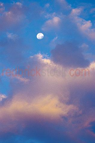 clouds cloud sky skies moon