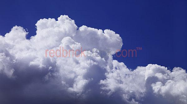 fuffy white cloud clouds blue sk skies cumulus formation pano pa