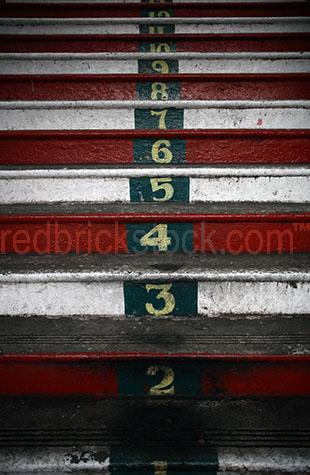 stairs stair stairway step steps ascend descend number numbers a