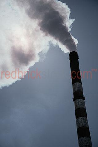 industry industrial chimney stack smog pollute pollution polluti