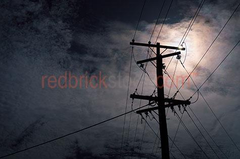 power pole line lines street electricity electric energy carbon