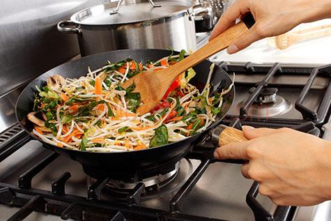 cook;cooks;cooked;cooking;stir fried;stir fry;stir-fried;stir-fry;stir fries;stir-fries;vegetable;vegetables;veg;veggie;veggies;meal;meals;dish;dishes;dinner;dinners;main course;main courses;maincourse;stove;stoves;stove top;stove tops;gas;utensil;utensils;prepare;prepares;prepared;preparing;preparation;hand;hands;two hands;holding;woman;women;womans hands;woman's hands;womens hands;women's hands;kitchen;kitchens;adult;home;homes;housewives;housewife;house wife;house wives