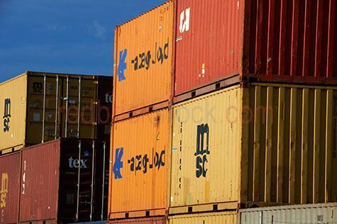 shipping containers;containers;shipping container;container;freight;cargo;cargos;cargo container;cargo containers;shipping;container terminal;container terminals;shipping terminal;shipping terminals;transport;transporting;carriage;carriages train carriage;train carriages;train;trains;day;daytime;blue sky;blue skies;rail;rails;railway;railways;cargo train container;cargo train containers;train container;train containers;container;containers;stack;stacks;stacked;stacked cargo containers;stacked cargo train containers;stacked train containers;stationary;rust;rusty;rusted;import;importing;export;exporting
