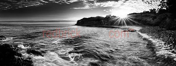 little cove noosa sunrise noosa national park ocean beach black