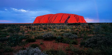 uluru;ayres rock;ayers rock;rocks;formation;sightsee;sight see;travel;landmark;seeing;northern territory;outback;country;desert;central australia;sacred sight;aboriginal land;iconic;destination;icon;destinations;tourism;australian icons;tourist