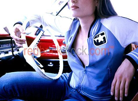 young woman car steering steer wheel youth lady girl falcon futu