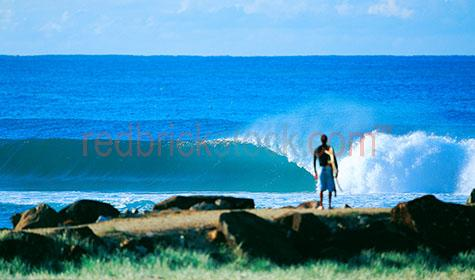 man;guy;stand;standing;surf;surfing;ocean;sea;wave;waves;coast;coastal