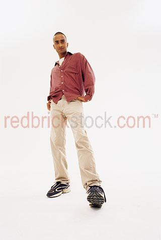 indian man young men india asia asian studio white background st
