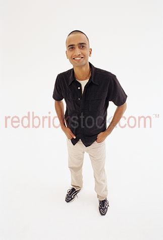 indian man young men india asia asian studio white backgrounf st