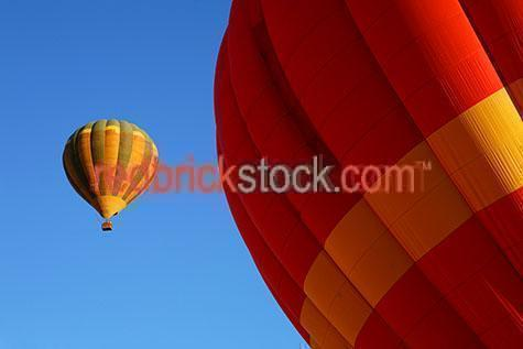 hot air balloons;hot air balloon;balloon;balloons;fly;flight;flying;sky;skies;blue;recreation;leisure;float;floating;hot air balloon;hot air balloons;blue sky;blue skies;ballooning;aircraft;aircrafts