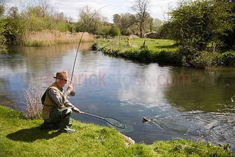 fly fishing;fish;fishes;sport;sports;recreation;lure;tackle;angling;trout;flies;fishing rod;fishing rods;lures;fresh water;artificial;freshwater;man;men;male;one person;one man;retired;retirement;retired man;50-55years;55-60years;50-55yrs;55-60yrs;catch;catches;caught;fish;fishes;hobby;hobbies;country;countryside;countrysides;country side;country sides;river;rivers;stream;streams;riverbank;riverbanks;river bank;river banks;fisherman;fishermen;fisher man;fisher men;net;nets;netting;catching