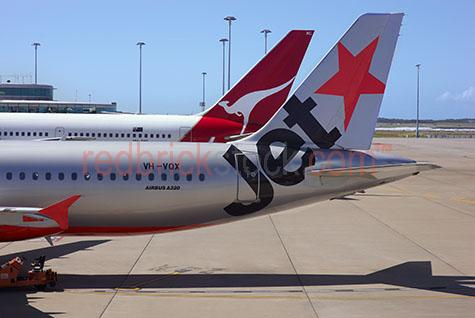 qantas;jetstar;jet star;flight;flights;plane;aeroplane;planes;jet;aircraft;jumbo;boeing 747;terminal;airport;air port;budget;economy;passenger flight;travel;travelling;transportation;transport;airliner;airline;company;subsidiary airways;fleet;companies;company