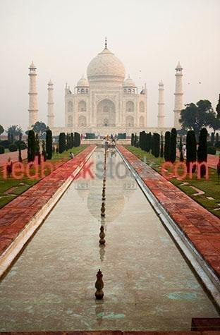 taj mahal;india;agra;travel;travels;travelling;traveling;travelled;traveled;tourist destination;tourist destinations;holiday destination;holiday destinations;vacation;vacations;tourism;icon;icons;iconic;landmark;landmarks;iconic building;landmark building;asia;asian;buildings;building;architecture;architectural;muslim;dome;domes;mausoleum;mausoleums;islam;islamic;garden;gardens;grounds;ground