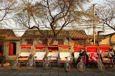 chinese china rickshaw rick shaw travel transport taxi tranporta