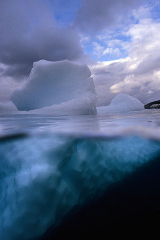 antarctica;antarctic;coast;coasts;coastal;marine;ocean;oceans;sea;seas;sea water;water;wet;snow;snowy;half and half;landscape;landscapes;over/under;seascape;seascapes;underwater;under water;underwater photography;under water photography;ice;icey;iceberg;ice berg;icebergs;ice bergs;frozen;freeze;froze;freezes;freezing;sky;skies;cloud;clouds;cloud cover;freshwater;fresh water;wildlife;wild life;deep sea;antarctic ocean;antarctic oceans;cold water;freezing water;freezing cold;cold;polar;ice cap;icecap;polar icecaps;polar icecap;global warming;climate change;rising water;environmental;environment;protection