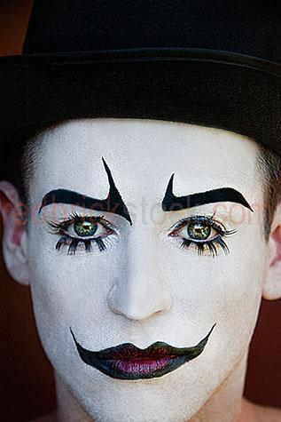 clown;clowns;clown face;clown faces;face;faces;close-up;close-ups;close-up's;close up;close ups;close up's;close-up view;close-up views;close-up view's;close up view;close up views;close up view's;clown close-up;clown close-ups;clown close-up's;clown close up;clown close ups;clown close up's;clown face close-up;clown face close-ups;clown face close-up's;clown face close up;clown face close ups;clown face close up's;entertainer;entertainers;entertainment;entertaining;perform;performs;performance;performances;performing;amuse;amuses;amusement;amusing;circus;circus';circus's;carnival;carnivals;sidehsow alley;sideshow alleys;sideshow ally;sideshow allys;quirky;querky;facial features;lips;painted lips;eye;eyes;green eyes;eyebrows;painted eyebrows;eyelashes;fake eyelashes;face paint;face paints;painted face;face painted;white face;white faces;painted white face;painted white faces;painted clown face;painted clown face close up;painted clown face close-up;facial hair;top hat;top hats;black top hat;black top hats;hat;hats;brick walls;stare;stares;staring;serious;serious expression;serious expressions;clown portrait;clown portraits;portrait of a clown