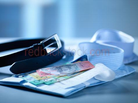 note;notes;money;cash;australian money;currency;australian currency;expensive;bills;bank notes;banknotes;colorful money;stack;stacked;pile;retail;spending;shopping;finance;financial;bills;bill;blue background;studio;studio photo;bank;banks;financing;close-up;closeup;close up;belt;belts;black belt;shirt;mens shirt;pinstriped;pinstriped shirt;blue shirt;business;clothes;clothing;corporate;bill of sale;invoice;invoices;tax invoice;tax invoices;payment;payments;pay;payed;sale;sales;sold;shop;transaction;transactions;purchase;purchases;purchased