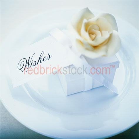 wishes present flower gift wedding celebration box anniversary b