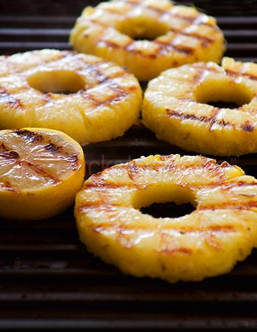 barbeque;bbq;barbequed;bbq'd;grill;grills;grilling;grilled;pineapple;fruit;food;lemon;lemons;cook;cooking;backyard cooking;outdoor;outdoors;backyard barbeque;backyard bbq;pineapple slice;pineapple slices
