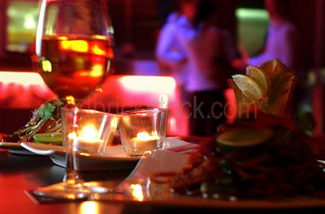 food;wine;candle;candles;lounge bar;blur
