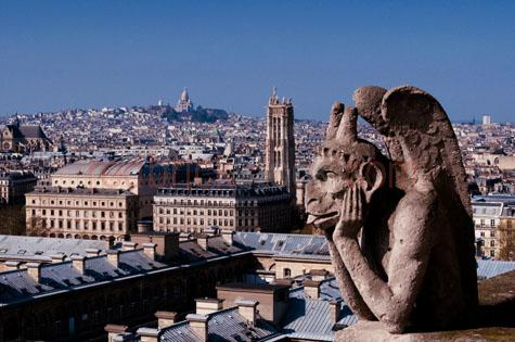 gargoyles;notre dame;paris;montmarte;gargoyle;city of france;paris;europe;european city;european cities;icon;iconic;landmark;landmarks;historic;french;architecture;architectural;french skyline;france skyline;gothic;gothica;statue;gargoyle statues;gargoyle statue;statues;culture;cultural;paris skyline;view of paris;high view;historic;heritage;france;cityscape;cityscapes;daytime